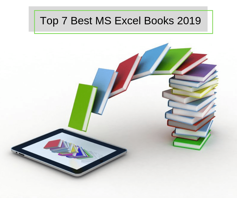 TOP 7 BEST MS EXCEL BOOKS 2019