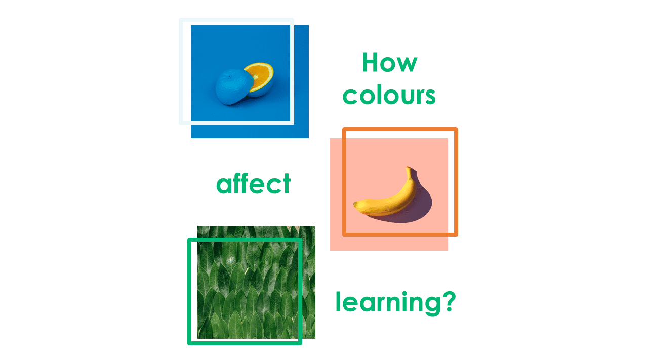 How colours affect the learning process?