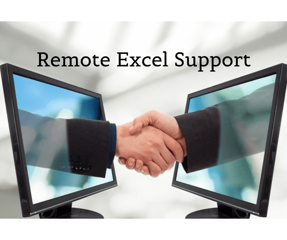 Remote Excel support is what you need
