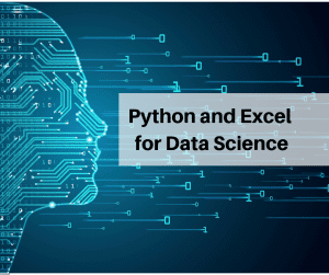python and excel for data science
