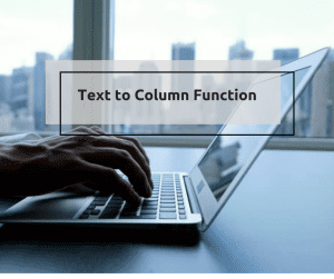 text to column function
