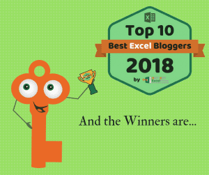 Top 10 Excel Bloggers