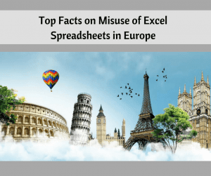 Misuse of Excel in Europe
