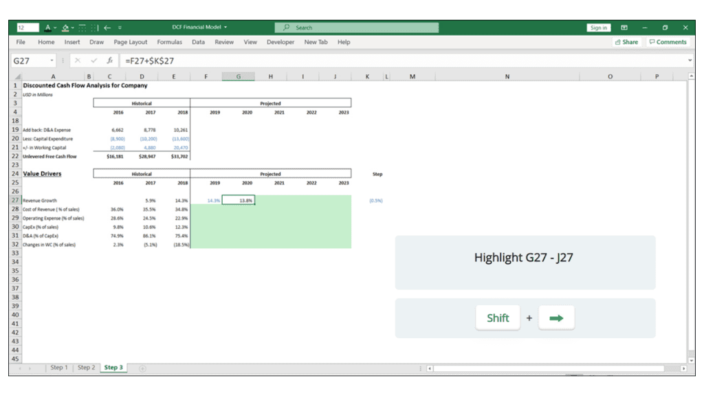 anchoring in financial models