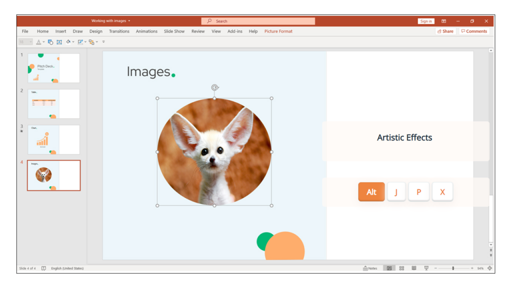 images in PowerPoint