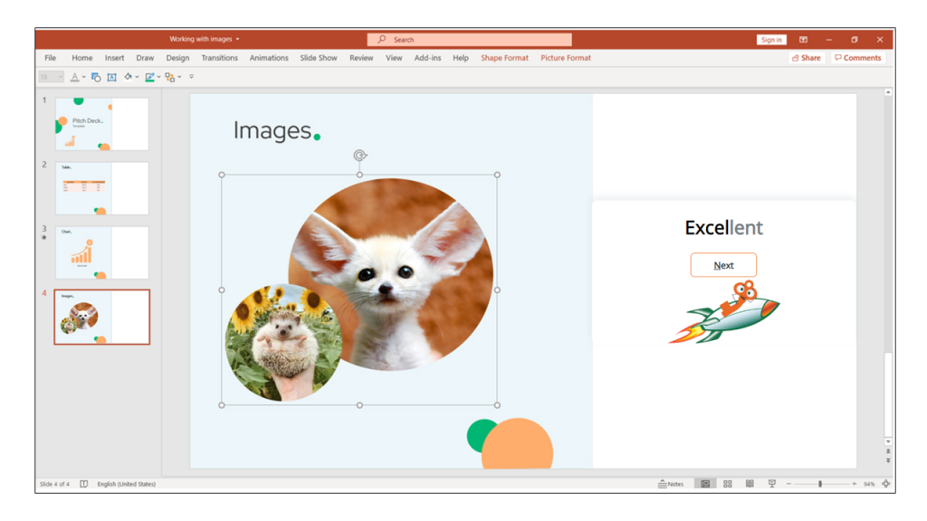 images in your PowerPoint