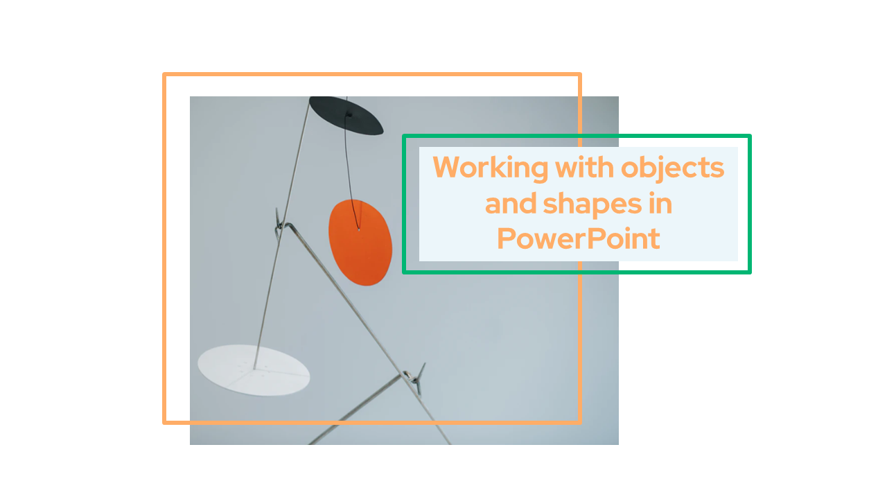 Working with objects and shapes in PowerPoint