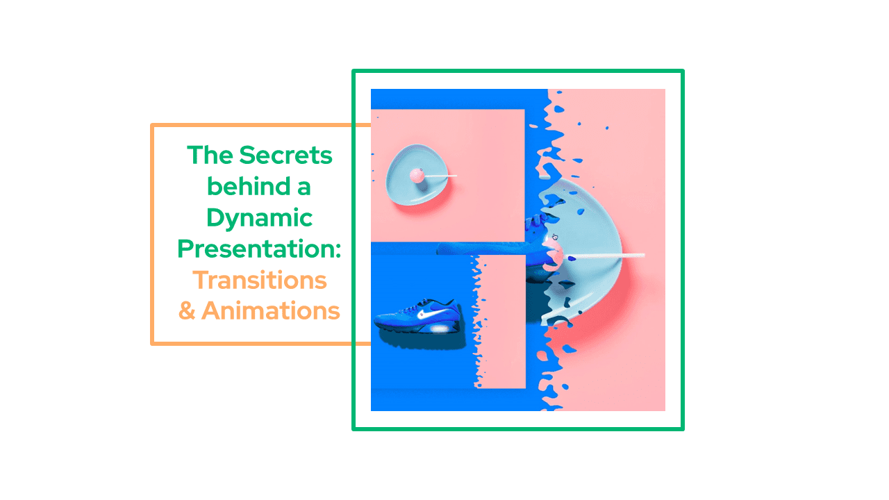 Transitions and Animations for a Dynamic Presentation
