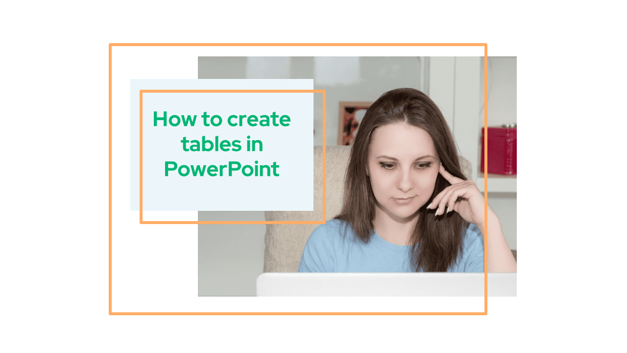 How to create tables in PowerPoint
