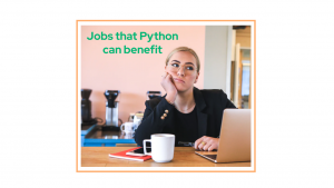 jobs that Python can benefit