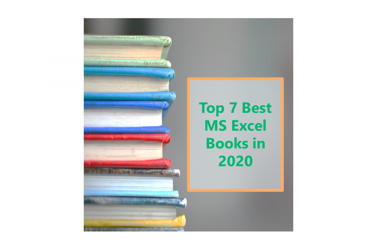 MS Excel books in 2020