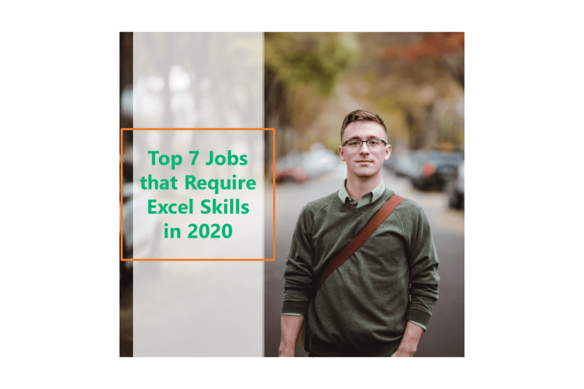jobs that require excel skills in 2020