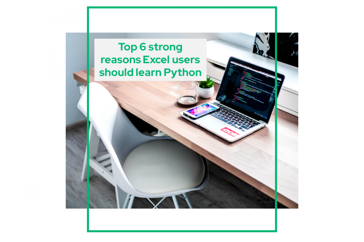 strong reasons Excel users should learn Python
