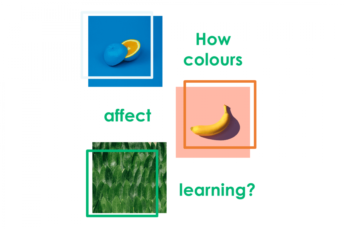 colours affect learning
