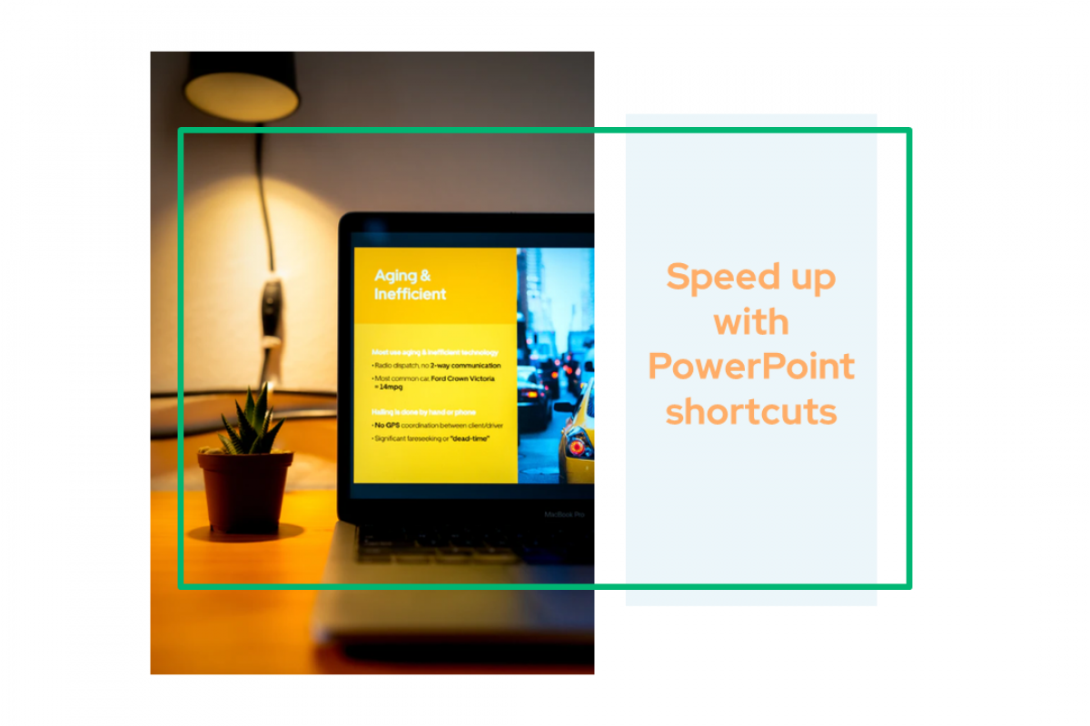 Speed up with PowerPoint shortcuts
