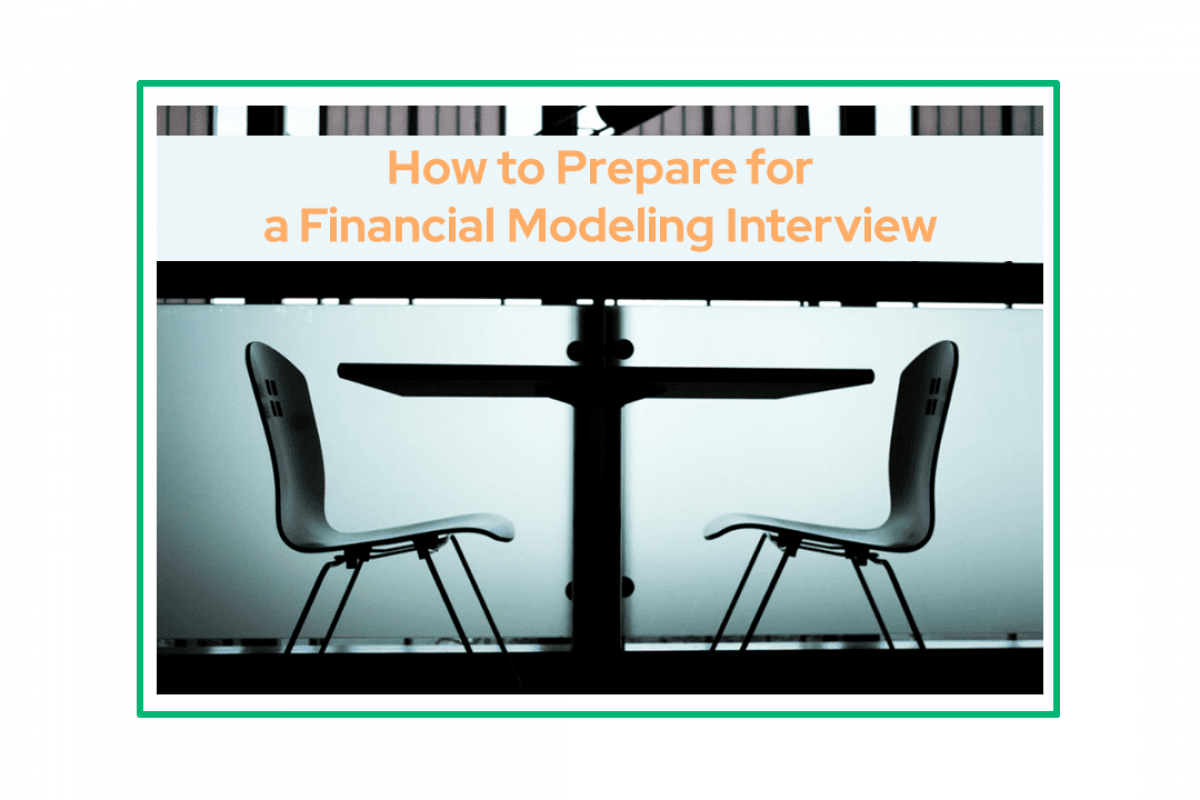 Financial modeling interview