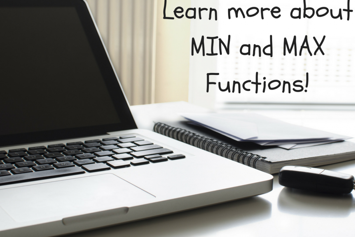 min and max functions
