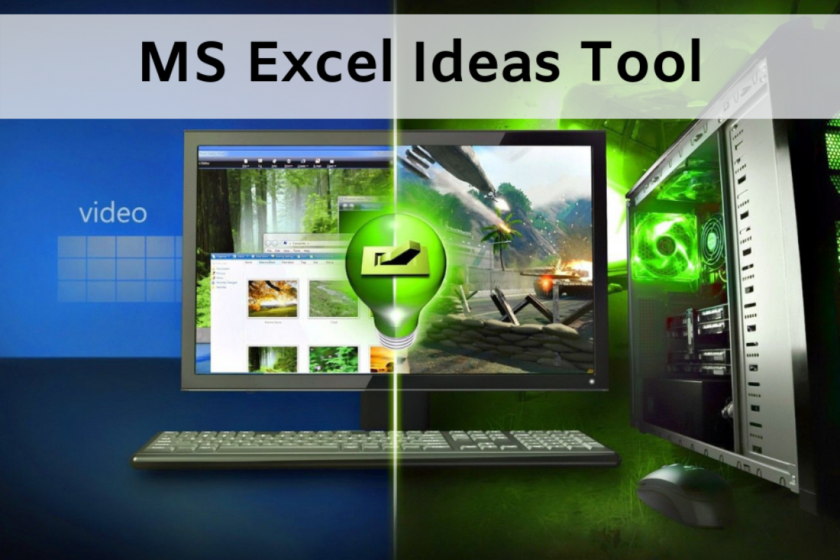 excel ideas tool