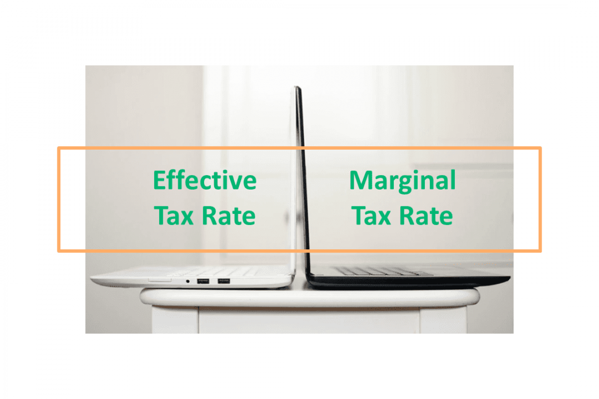 Effective tax rate vs Marginal tax rate
