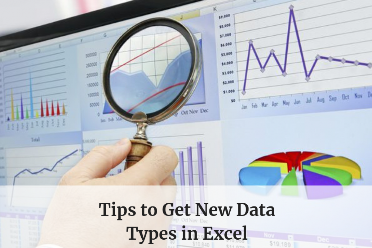 new data types in excel