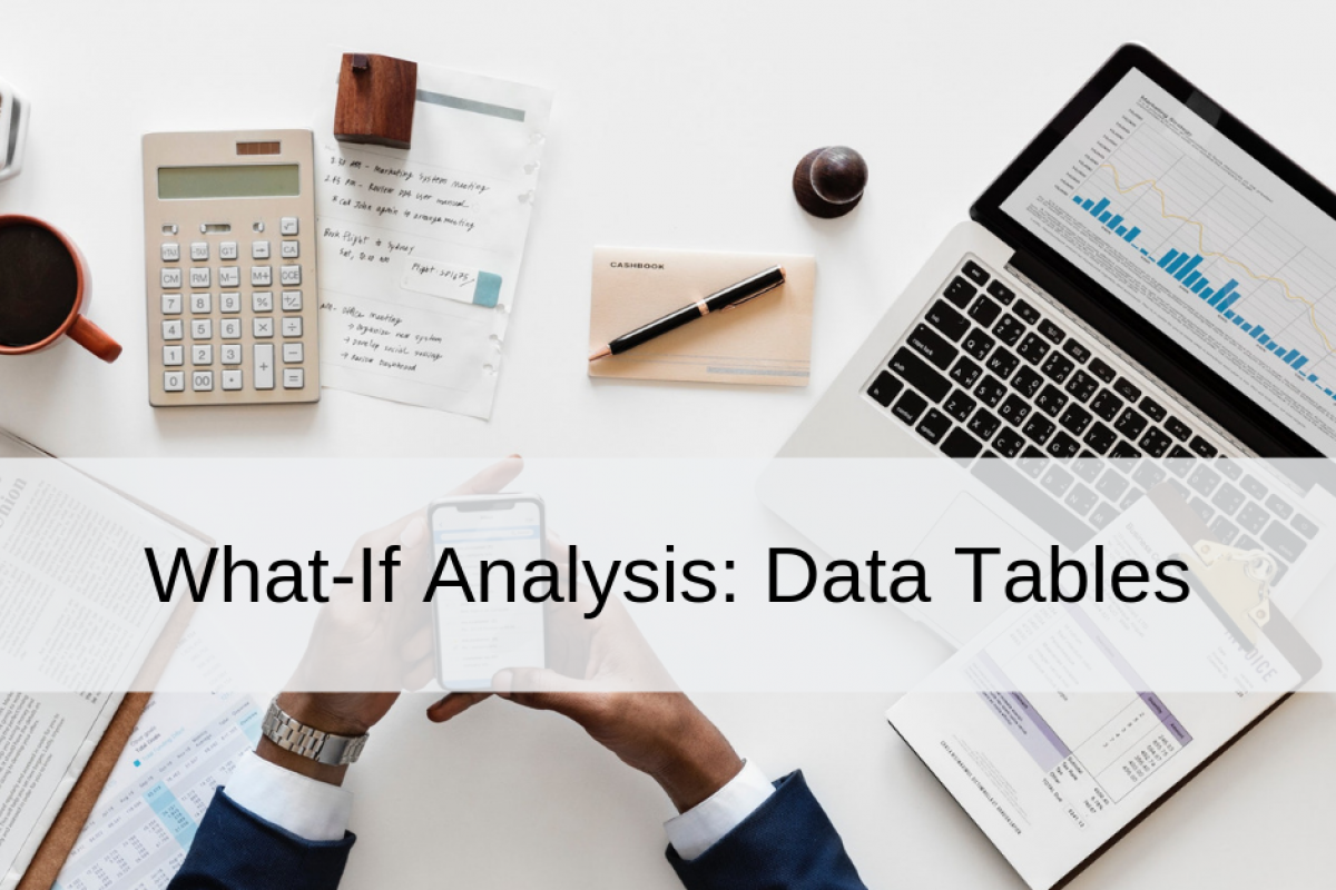 what if-analysis data tables